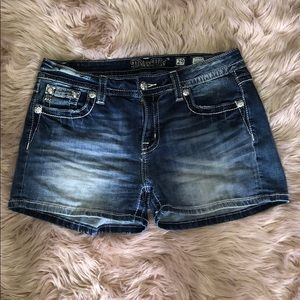 Buckle Miss Me Mid Rise Jean Shorts